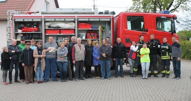 "Wizyta strażaków OSP ""Pomoc Maltańska"" Klebark Wielki"