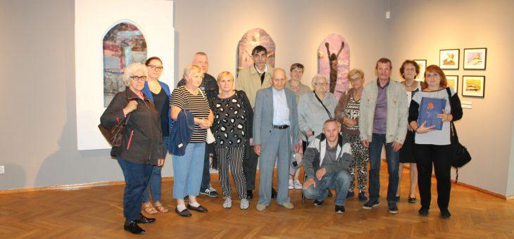 Wyjazd do Galerii Sztuki w Olsztynie.