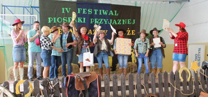 """IV Festiwal Piosenki Przyjaznej Śpiewać każdy może pt. ,,Country music hits"""""""