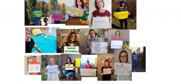 Życzenia Wielkanocne od pracowników Środowiskowego Domu Samopomocy w Marcinkowie